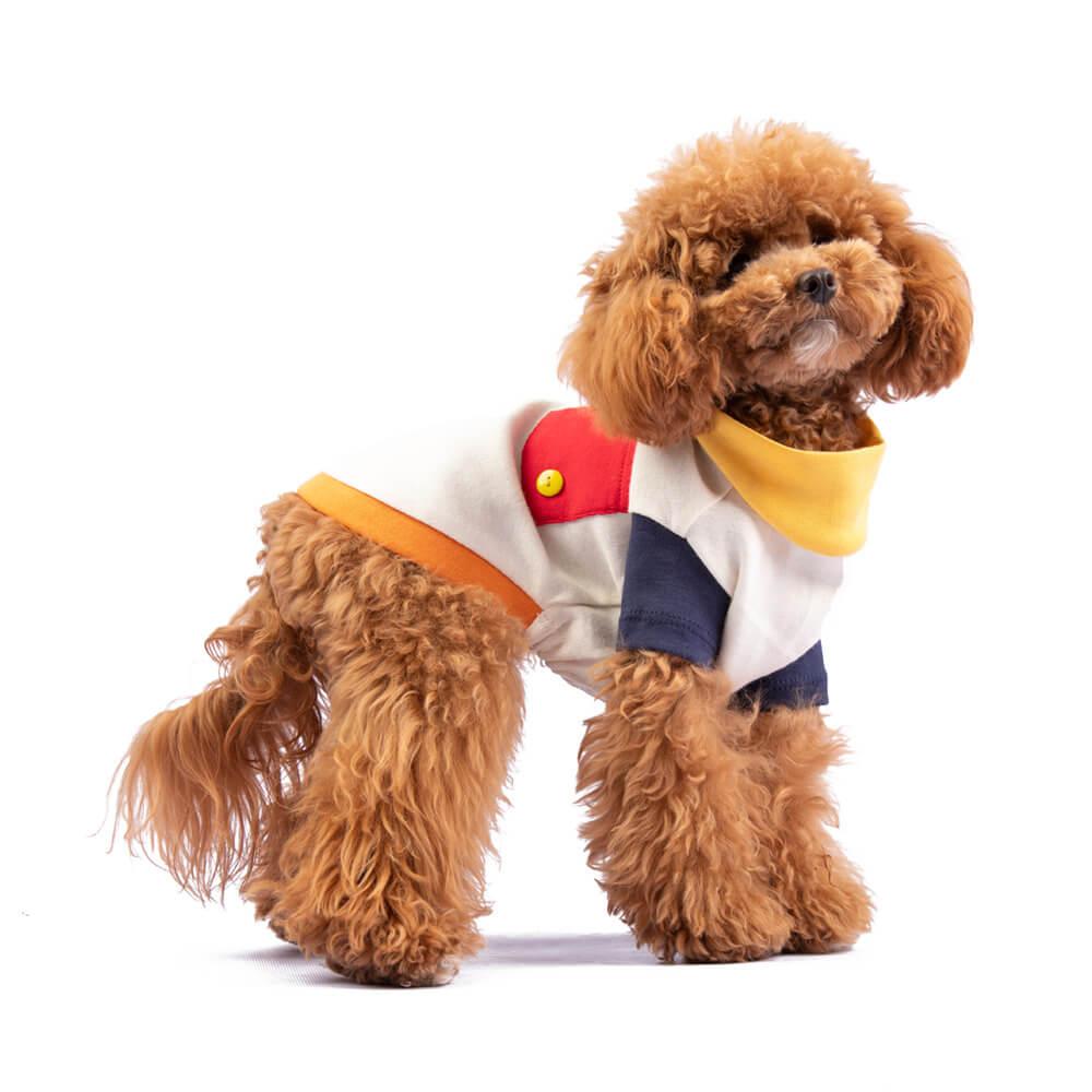 Una línea sofisticada diseñada para tu perro pensando en ti. Nuestras chompas se tejen cuidadosamente para brindar comodidad, resistencia, durabilidad y mucho estilo. <ul> <li>Cuerpo: 85% Polyester 15% Algodón</li> <li>Capucha: 100% Algodón</li> <li>Modelo deportivo</li> <li>Cómodo y stretchy</li> <li>Suave al tacto y fresco</li> </ul> En esta misma página, encontrarás la<strong>GUÍA DE MEDIDAS</strong> de este polo para que elijas correctamente la talla de tu perro.