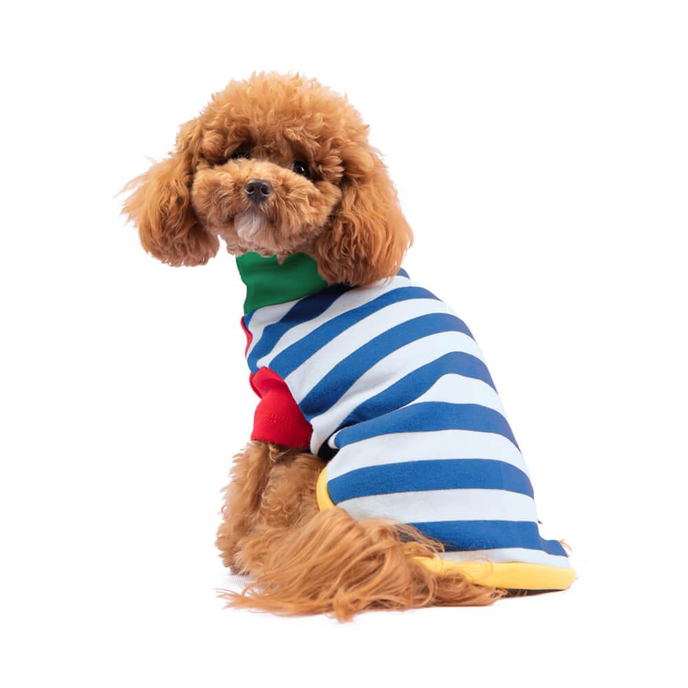 Sweaters Se amoldan bien al cuerpo del perro. Si tu perro es de esos que son más tacuchi, tomar en cuenta que el tejido no es 100% stretch. Gloria usa talla X-Small En esta misma página, más abajo, encontrarás la<strong>GUÍA DE MEDIDAS</strong> específica de este polo para que elijas correctamente la talla de tu perro. <strong>¡Toma en cuenta que no todas las prendas siguen la misma tabla de medidas! Dentro de cada producto, encontrarás la tabla de medidas que corresponde al modelo.</strong>